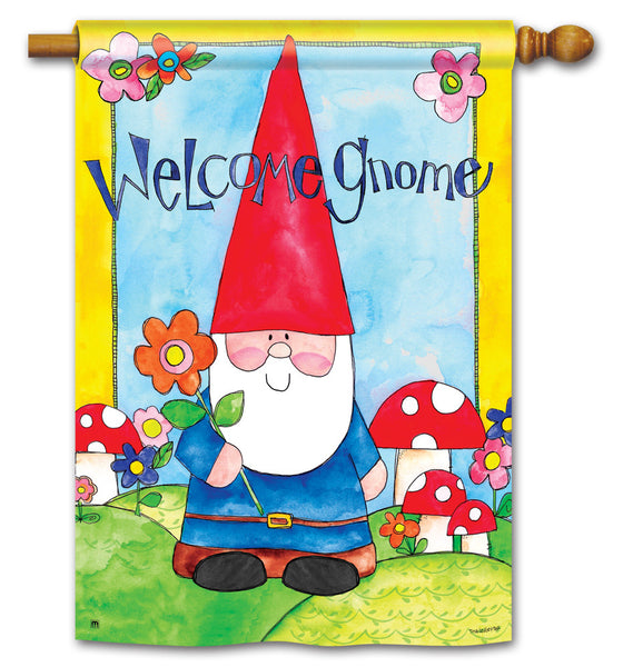 Welcome Gnome Standard Flag