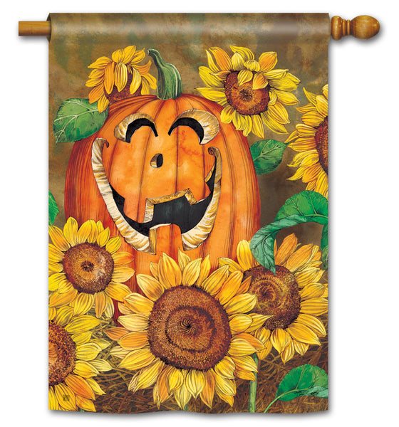 Sunflower Jack Standard Flag