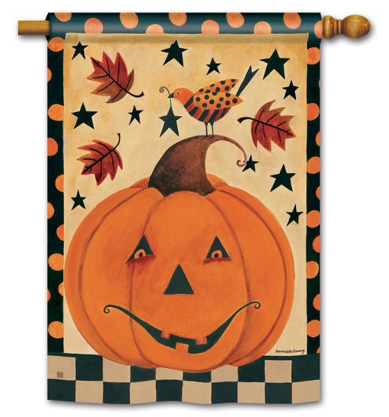 Country Pumpkin Standard Flag