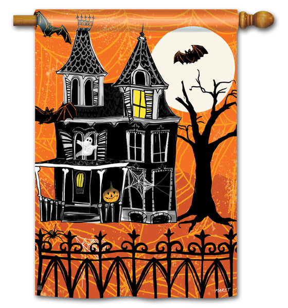 Haunted House Standard Flag