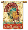 Thanksgiving Turkey DS Stndard Flag