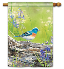 Meadow Bluebird Standard Flag