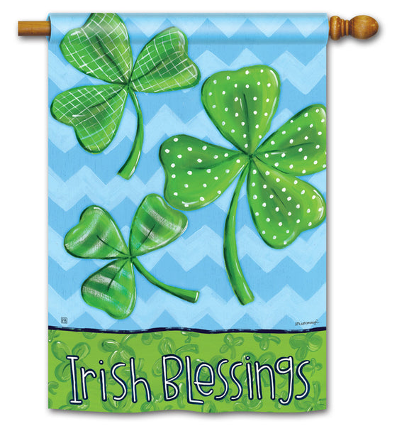 Irish Blessings DS Standard Flag