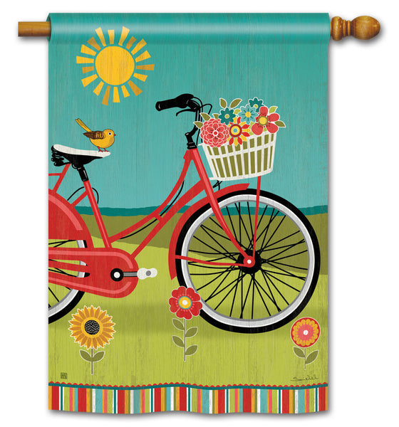 Summer Ride Standard Flag