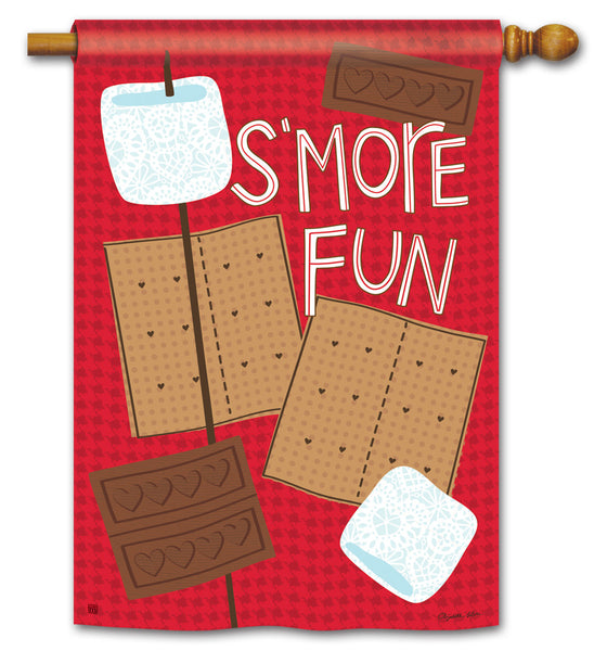 S'more Fun Standard Flag