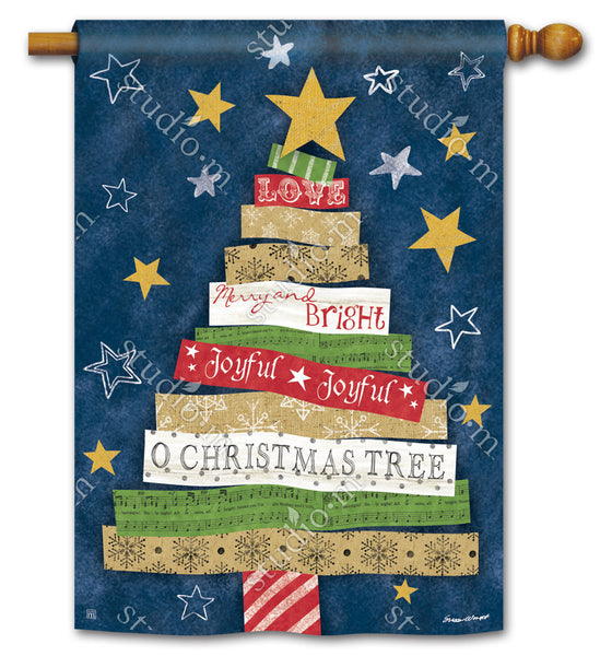 Songs of Christmas Standard Flag