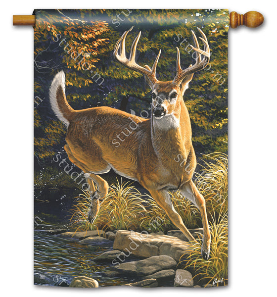 Whitetail Buck Standard Flag