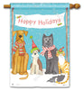 Pet Holiday Standard Flag