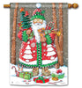 Jolly Santa Standard Flag