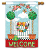 Topiary Gate DS Standard Flag