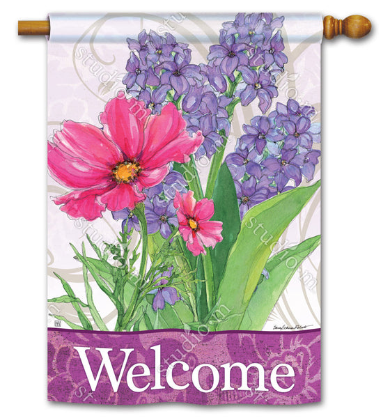 Garden Bouquet DS Standard Flag