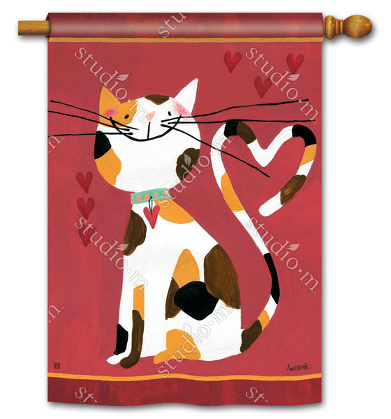 Sweet Kitty Standard Flag