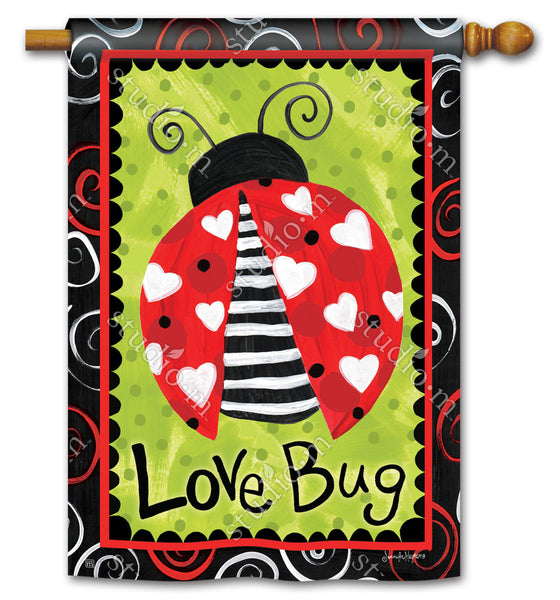 Love Bug Standard Flag