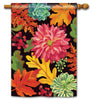 Vibrant Autumn Mix Standard Flag
