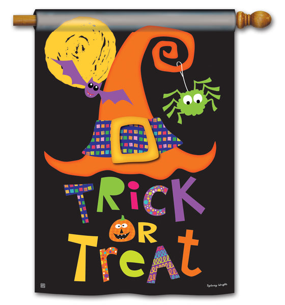 Witches Halloween Standard Flag