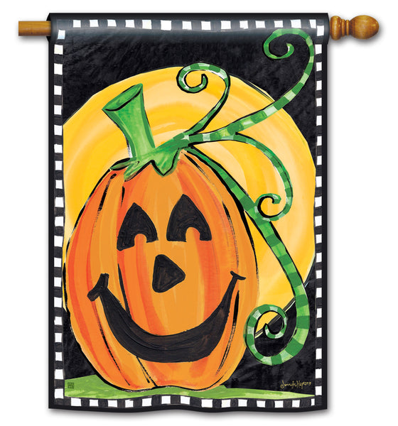 Halloween is Here Standard Flag