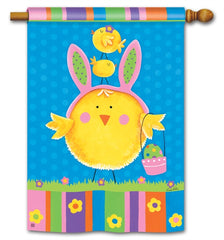 Easter Chicks Standard Flag