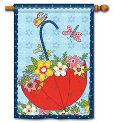 April Showers Standard Flag