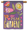 Love My Garden Standard Flag