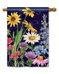 Wildflower Mix Standard Flag
