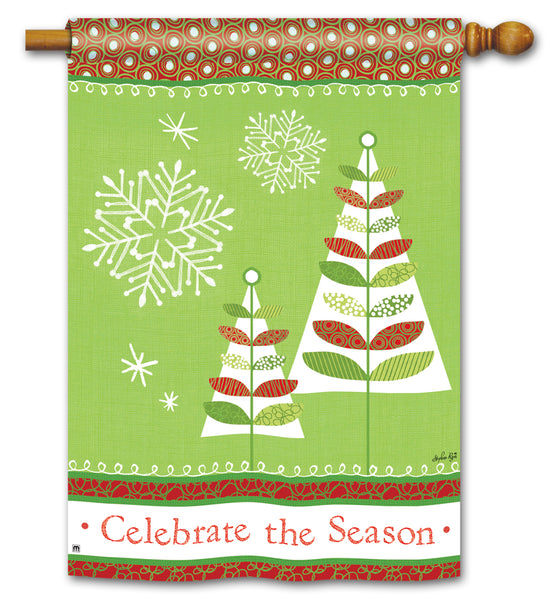 Celebrate the Season DS Stand Flag