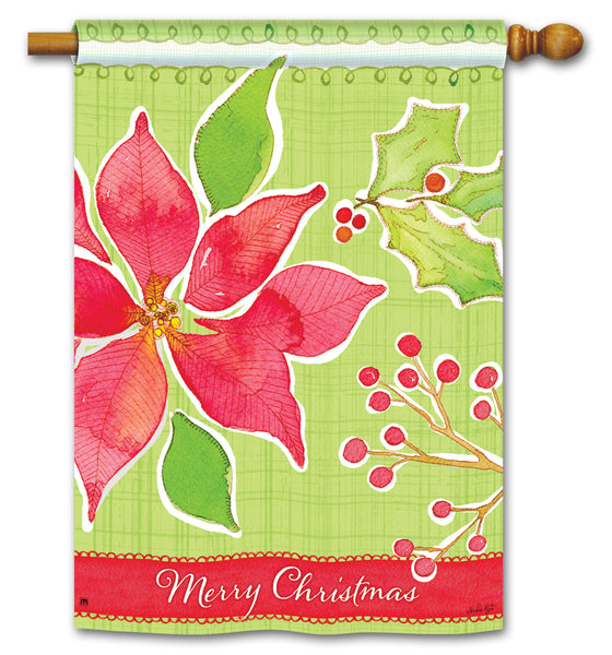 Christmas Flower DS Standard Flag