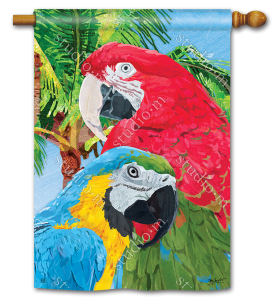 Tropical Beauties Standard Flag
