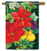 Poinsettia Fruit Standard Flag