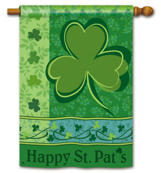 Happy St. Pat's DS Standard Flag