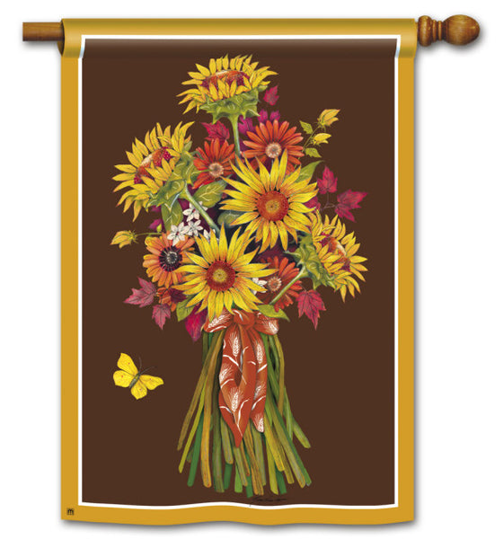 Sunflower Bouquet Standard Flag