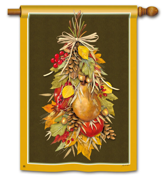 Fruits of Fall Standard Flag
