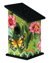 Butterfly's Paradise Birdhouse