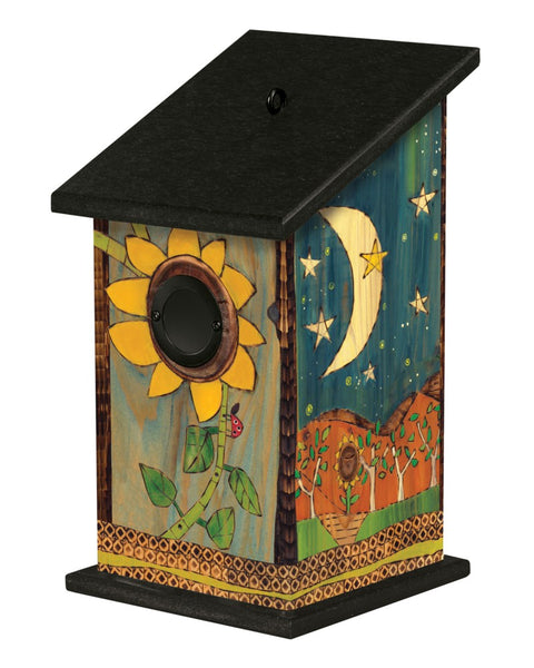 Peaceful Earth Birdhouse