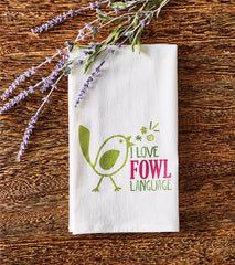 Fowl Language Towel