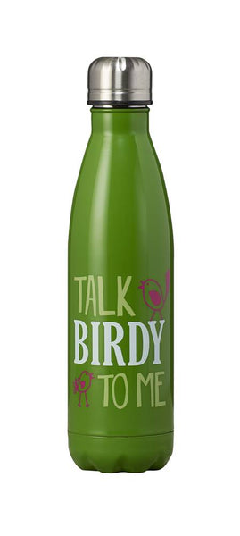 Talk Birdy to Me Insulated Water Bottle