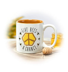 Give Bees a Chance Coffee Mug