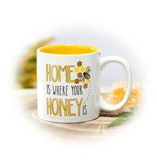 Home is Where Your Honey Is Coffee Mug