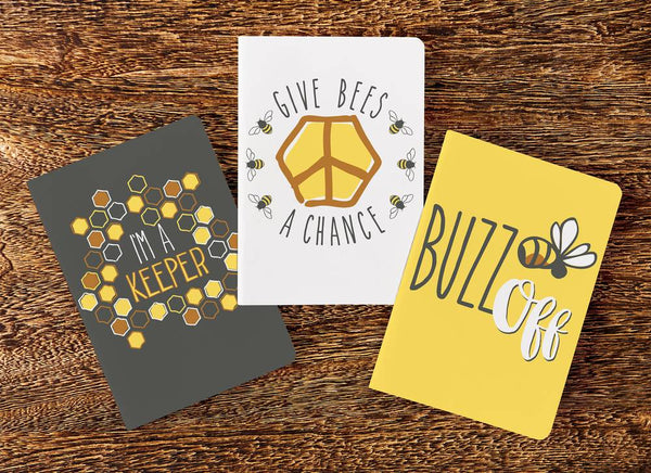 Bee Buzz Journal Set