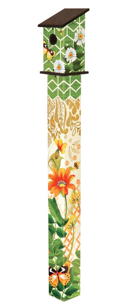 Fancy Garden 5' Birdhouse Art Pole