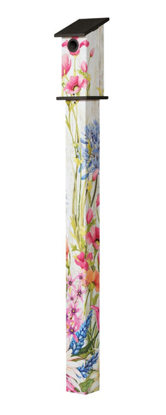 Butterfly Dance 5' Bluebird House Art Pole