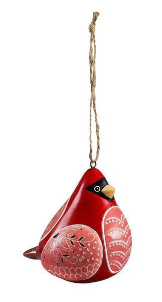 Cardinal Bird Song Ornaments