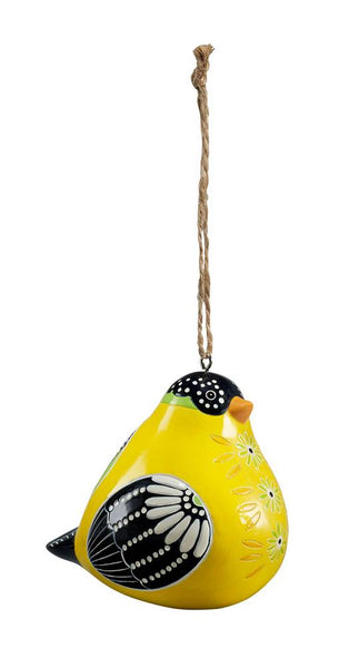 Goldfinch Bird Song Ornaments