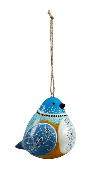 Bluebird Bird Song Ornaments