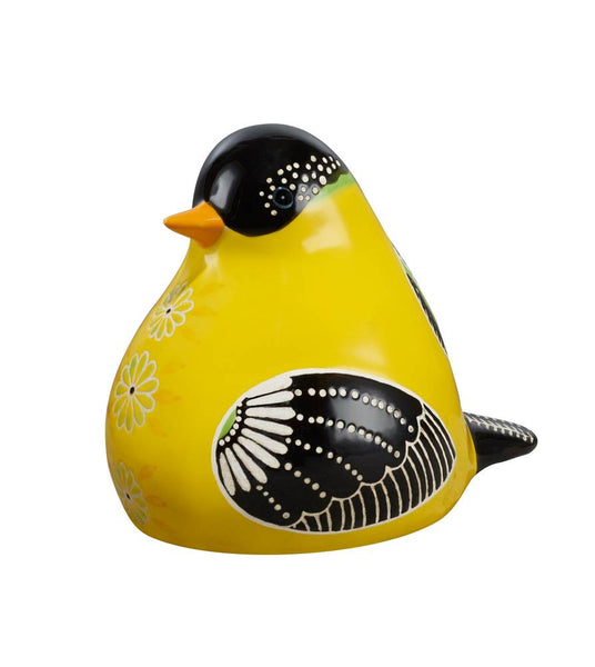 Goldfinch Bird Song Decorative Figurine