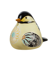 Chickadee Bird Song Decorative Figurine