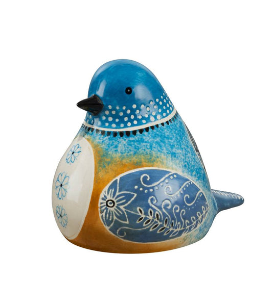 Bluebird Bird Song Decorative Figurine