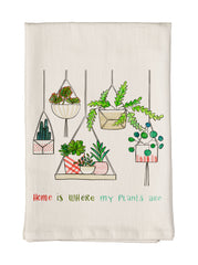 Where My Plants Are Towel