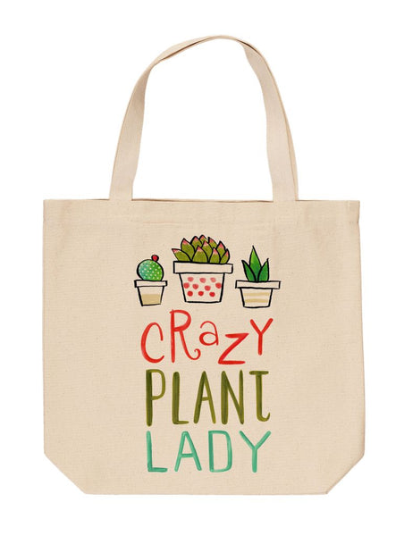 Crazy Plant Lady Tote