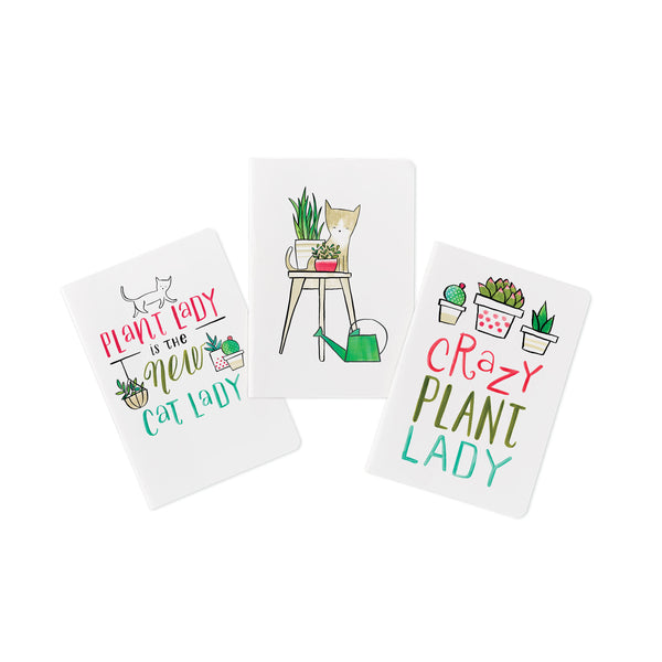 Crazy Plant Lady Journal Set