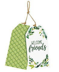 Welcome Friends Door Décor